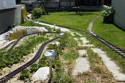 Hier geht es zu den Bildern von: Strecke, Brücken und Rampen meiner Gartenbahn
