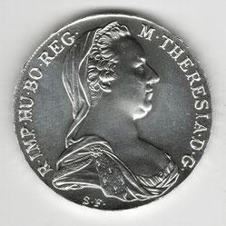Investieren in das Edelmetall Silber Maria-Theresien-Taler (Vorderseite)