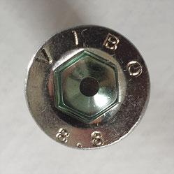 Schrauben-Antrieb-Zylindrischer Schraubenkopf mit Innensechskant