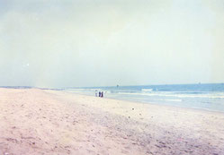 コナーラクのビーチ