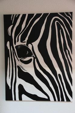 Zebra 74x56cm / verkauft