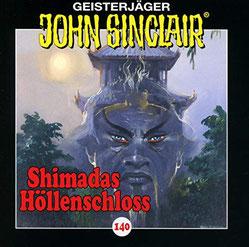CD Cover 140 - Shimadas Höllenschloss John Sinclair