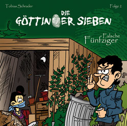 CD Cover Göttinger Sieben - Falsche Fünfziger