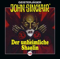 CD Cover John Sinclair Der unheimliche Shaolin