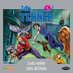 CD Cover Jan Tenner - Das Hirn des Bösen