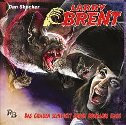 CD Cover Larry Brent - Das Grauen schleicht durch Bonnards Haus