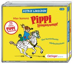 CD Cover - Pippi Langstrumpf Hörbuchschatz