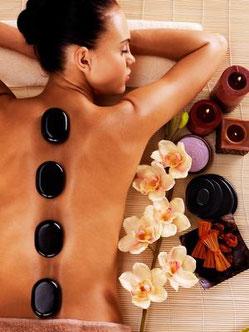 Beauty salon Stuttgart Mitte Wellness massages Hot stone massage