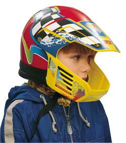 voransicht spielhelm motorradhelm