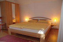 Schlafzimmer Ferienwohnung Backbord Radzuhn