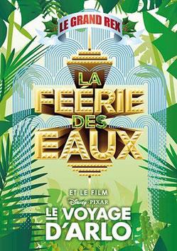 Grand REX 2015 Le Voyage d'arlo Disney pixar