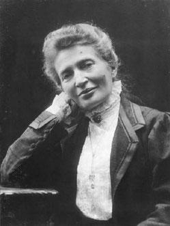 Anna Kuliscioff à Florence en 1908, photographie de Mario Nunes Vais