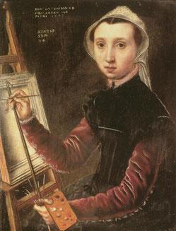 Autoportrait au chevalet (1948) © Kunstmuseum, Bâle.