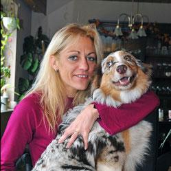 Alexandra mit Bailey