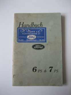Ford 6 PS & 7 PS Handbuch 1947 Foto 111