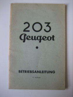 Peugeot 203 4. Auflage Foto 89