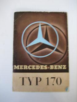Mercedes Benz 170 Prospekt 1935 Foto 114