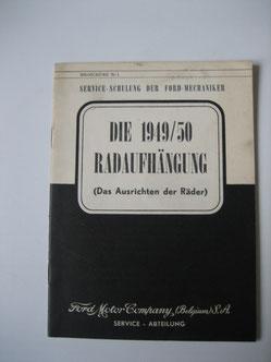Ford Radaufhängung 1949/1950 Foto 126
