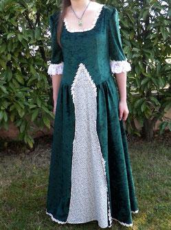 robe XVIIème siècle