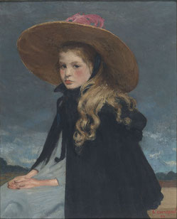 Henri EVENEPOEL (1872-1899), Henriette with the large hat, 72 x 58, 1899 © Brussels, MRBAB/KMSKB