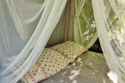 Vue du bivouac airbnb
