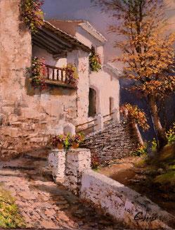 Pintura al óleo de Manuel Cuberos