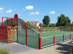 Equipements sportifs : terrains multi-sports/city-stades - Imagin'Aires