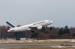 Air France  Airbus A319-111 ( französische Fluggesellschaft)