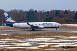 SunExpress Boeing 737-8HC (türkische Fluggesellschaft)