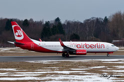 Air Berlin Turkey (Izair)  Boeing 737-86J (Charterairline von airberlin und Pegasus)