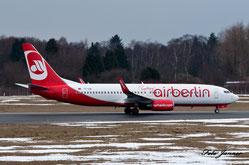 Air Berlin Turkey (Izair)  Boeing 737-86J (Charterairline von airberlin und Pegasus)