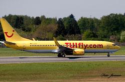 TUIfly Boeing 737-8K5 (deutsche Fluggesellschaft)