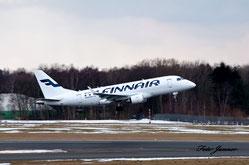 Finnair Embraer ERJ-170 ( finnische Fluggesellschaft)