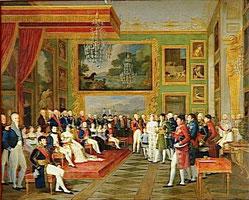 Vermählung von Eugène und Auguste