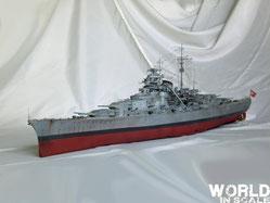 Bismarck - 1/200 v. Trumpeter & MK1 Design