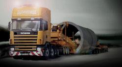 Scania 8x4 4/NA + Mega Windmill Transporter