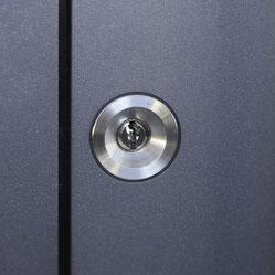 Design Alu Haustüre bei Erftstadt RC 2 KFW