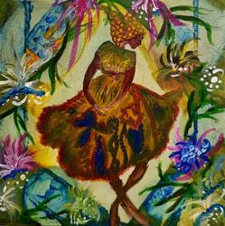 """Tanz des Lebens, #Buddhismus Werk 03 Serie """"Glück und Zufriedenheit"""" by Atelier Zippo"""