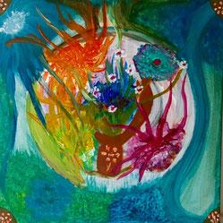 """Frei mit der Natur, #Buddhismus Werk 08 Serie """"Glück und Zufriedenheit"""" by Atelier Zippo"""