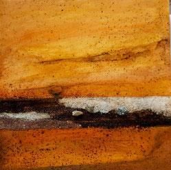 """Element Erde von Yin und Yang #Buddhismus Werk 12 Serie """"Glück und Zufriedenheit"""" by Atelier Zippo"""