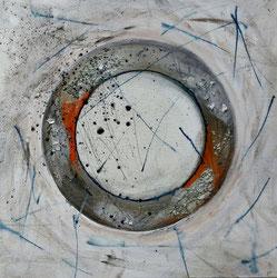 """Element Metall von Yin und Yang, #Buddhismus Werk 13 Serie """"Glück und Zufriedenheit"""" by Atelier Zippo"""