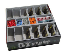 folded space insert organizer 51st state complete master set