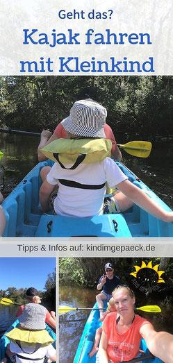 Informationen und Tipps für das Kajak mit Kind.
