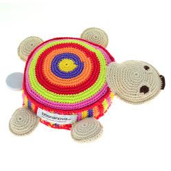 gehäkelte Spieluhr Schildkröte