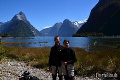 Neuseeland - Motorrad - Reise - Milford Sound bei bestem Wetter
