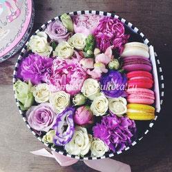 Цветы в коробке Подольск