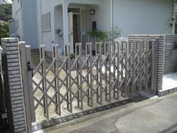 車庫ゲート