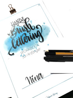 Workshop Workbook von Stickynote Lettering