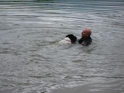 Retten ist leicht: 1) hinschwimmen
