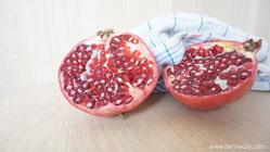 Granatapfelsaft Aufbau Gebärmutterschleimhaut Fruchtbarkeit Schwangerschaft